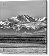 The Rockies Acrylic Print by Heather Applegate