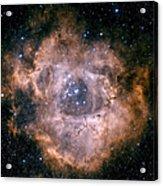 The Rosette Nebula Acrylic Print by Charles Shahar