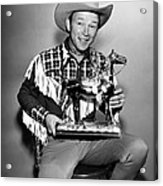 The Roy Rogers Show, Roy Rogers Acrylic Print by Everett