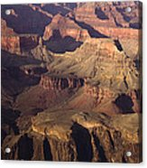The Rugged Grand Canyon Acrylic Print by Andrew Soundarajan