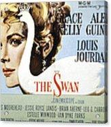 The Swan, Grace Kelly, 1956 Acrylic Print by Everett