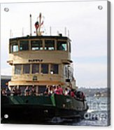 The Sydney Harbour Ferry Supply Acrylic Print by Joanne Kocwin