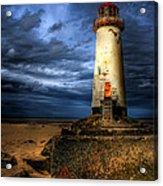 The Talacre Lighthouse Acrylic Print by Adrian Evans