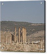 The Temple Of Artemis In The Ruins Acrylic Print by Taylor S. Kennedy