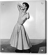 The Tender Trap, Debbie Reynolds, 1955 Acrylic Print by Everett