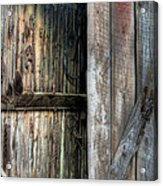 The Tool Shed Acrylic Print by JC Findley