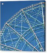 The Top Of A Ferris Wheel, Low Angle View Acrylic Print by Frederick Bass