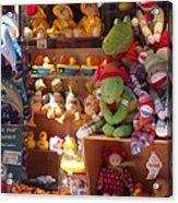 The Toy Store Acrylic Print by Cathy Curreri