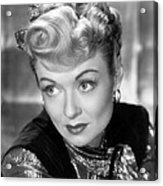 The Unsuspected, Constance Bennett, 1947 Acrylic Print by Everett