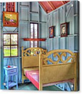 The Vincent Van Gogh Small House Acrylic Print by Tamyra Ayles