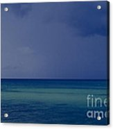 The Weather Is Changing Acrylic Print by Heiko Koehrer-Wagner