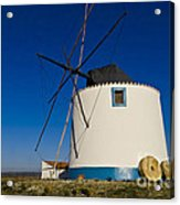 The Windmill Acrylic Print by Heiko Koehrer-Wagner