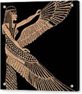 The Winged Isis Acrylic Print by Jim Ross