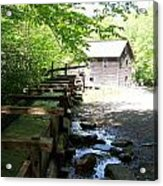 The Working Mill Acrylic Print by Regina McLeroy
