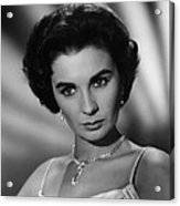This Earth Is Mine, Jean Simmons, 1959 Acrylic Print by Everett
