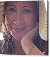 This Smile Was For You Acrylic Print by Laurie Search