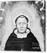 Thomas Aquinas, Italian Philosopher Acrylic Print by Science Source