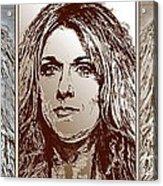 Three Interpretations Of Celine Dion Acrylic Print by J McCombie