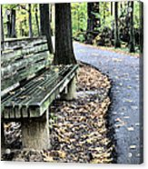Time For A Rest Acrylic Print by JC Findley