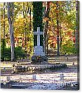 To The Unknown Dead Acrylic Print by Renee Trenholm