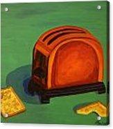 Toaster Acrylic Print by Cynthia Thomas