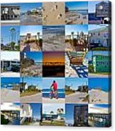 Topsail Visual Contemporary Quilt Series II Acrylic Print by Betsy Knapp