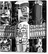Totems Acrylic Print by Chris Dutton