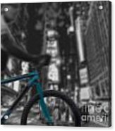 Touring The City Acrylic Print by Linda Seacord