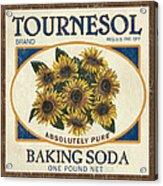 Tournesol Baking Soda Acrylic Print by Debbie DeWitt