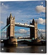 Tower Bridge Acrylic Print by Steven Gray