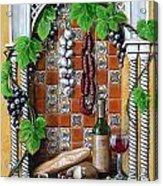 Traditions Acrylic Print by Joan Garcia