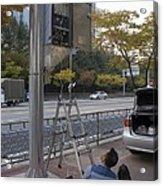 Traffic Control System, Daejeon Acrylic Print by Mark Williamson