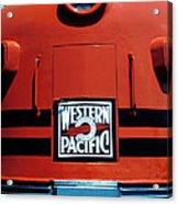 Train Western Pacific Acrylic Print by Garry Gay