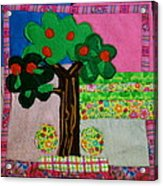 Tree Acrylic Print by Ghazel Rashid