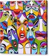 Tristes Acrylic Print by Mario Fresco