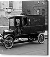 Trucks. Dermonets Ford Delivery Truck Acrylic Print by Everett