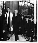 Truman Presidency. From Left Cathedral Acrylic Print by Everett