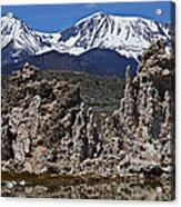Tufa At Mono Lake California Acrylic Print by Garry Gay