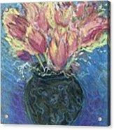 Tulips Acrylic Print by Hillary McAllister