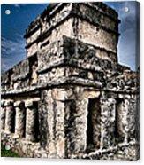 Tulum Ruinas 1 Acrylic Print by Skip Hunt