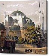 Turkey: Hagia Sophia, 1852 Acrylic Print by Granger