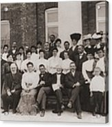 Tuskegee Institute Faculty Acrylic Print by Everett