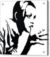 Twiggy Acrylic Print by Jett Vivere