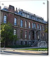 Uc Berkeley . South Hall . Oldest Building At Uc Berkeley . Built 1873 . 7d10100 Acrylic Print by Wingsdomain Art and Photography