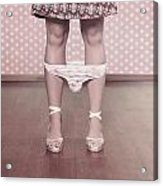 Underpants Acrylic Print by Joana Kruse