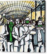 Union Acrylic Print by Nina Mirhabibi