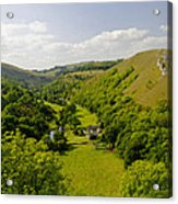Upperdale From Monsal Head Acrylic Print by Rod Johnson