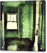 Upstairs Hallway In Old House Acrylic Print by Jill Battaglia