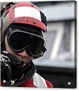 U.s. Navy Aviation Ordnanceman Reports Acrylic Print by Stocktrek Images