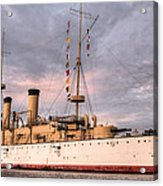 Uss Olympia Acrylic Print by JC Findley
